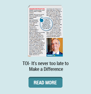 TOI- It's never too late to Make a Difference